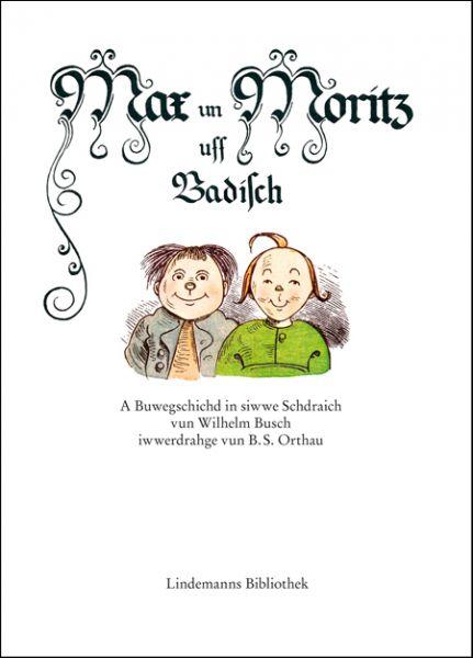 Max un Moritz uff Badisch