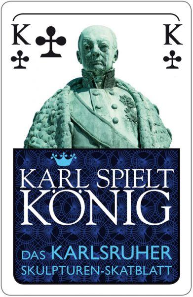 Karl spielt König – das Karlsruher Skulpturenblatt