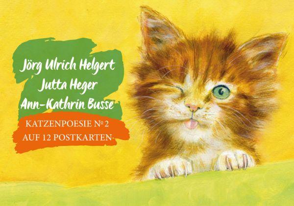 Katzenpoesie №2 auf 12 Postkarten