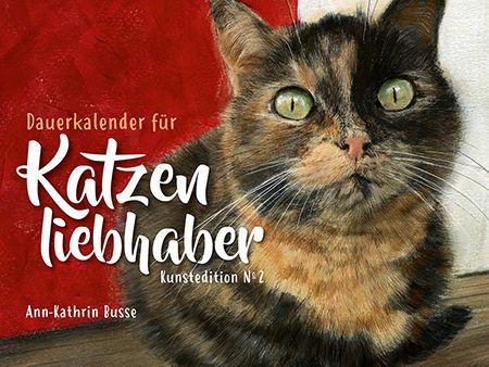 Dauerkalender für Katzenliebhaber, Kunstedition №2